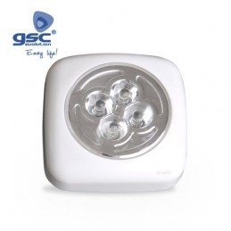 PUSH-LIGHT 4LEDS. USA 3...