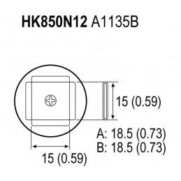 A1135 HK850N12 BOQUI PLCC...