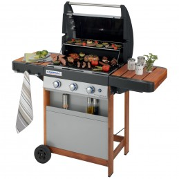 BBQ A GAS   3 SERIES WOODY...
